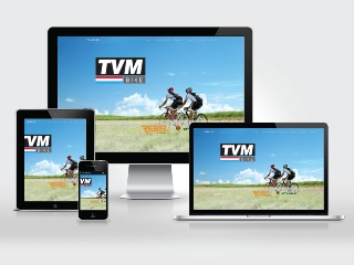 Portfolio item: TVM bike website